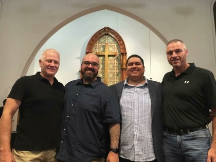 These brotha's right here from NW Iowa have impacted my life personally as well as that of our church plant in an amazing way. Chris Godfredsen is a pastor to pastors and one of the best friends and cheerleaders a man can have.