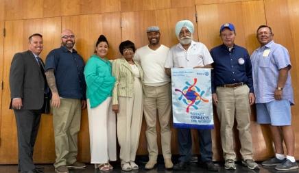 RCLA present at Lynwood's Rotary Club meeting