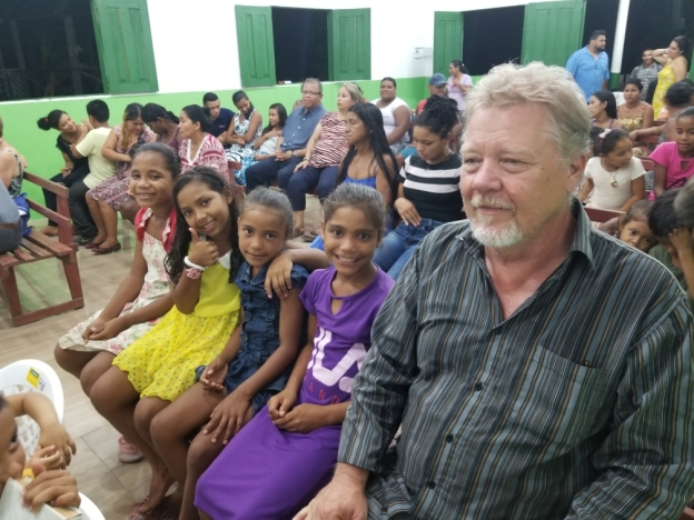 Bill Hilton representing Reformed Church LA in the Amazon
