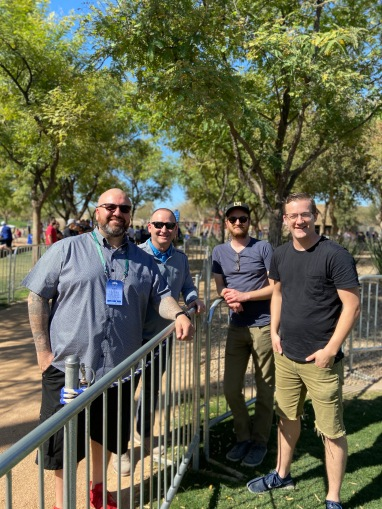 As a chaplain for the Los Angeles Dodgers, I was in Phoenix, AZ for a few days during Spring Training and bumped into other pastor friends and church planters.