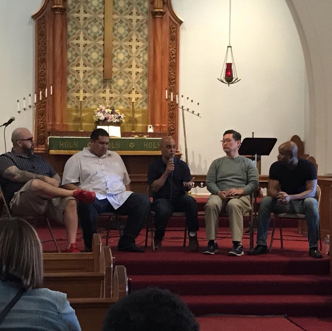 "RCLA hosted ""Word On The Street Evangelism Conference"""